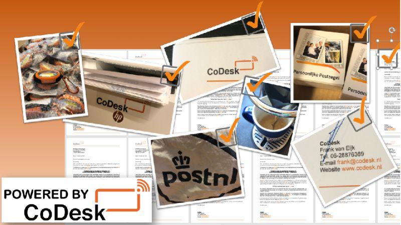 CoDesk sales campagne met lichtjes