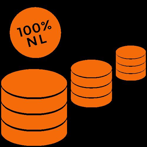 100% NL datastorage in het datacenter