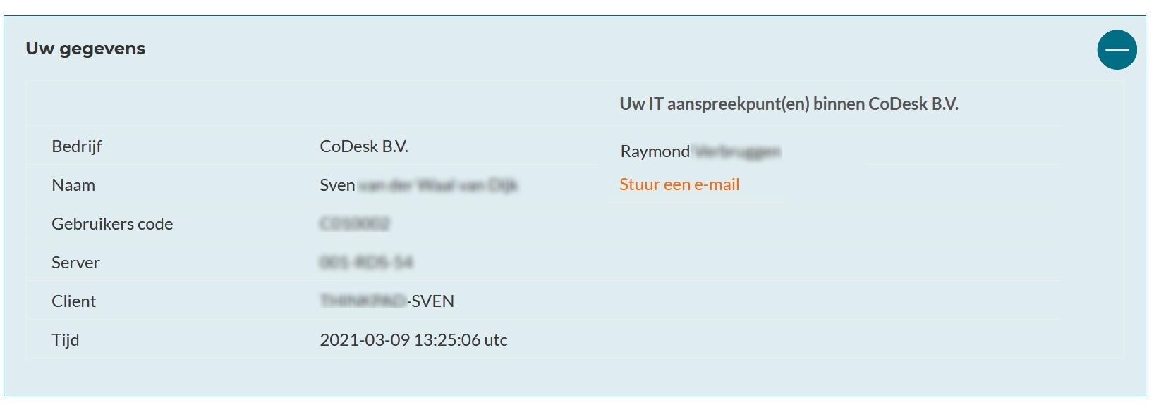 Details op codesk.nl/help