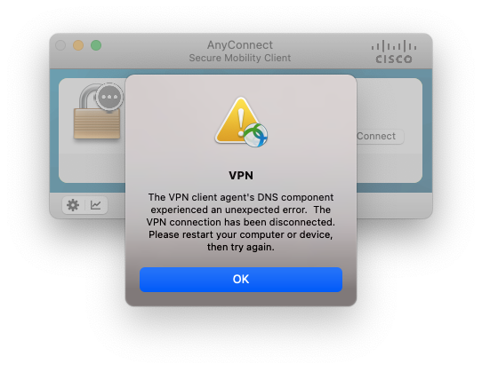 VPN errors