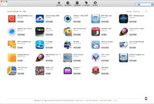 RDP installatie uit app store ophalen